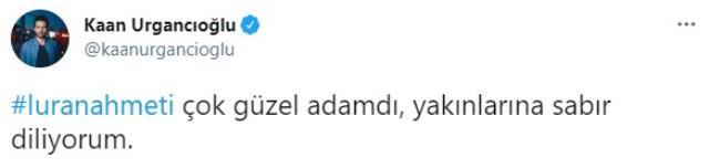 Luran Ahmeti'nin ölümü sanat dünyasını yasa boğdu