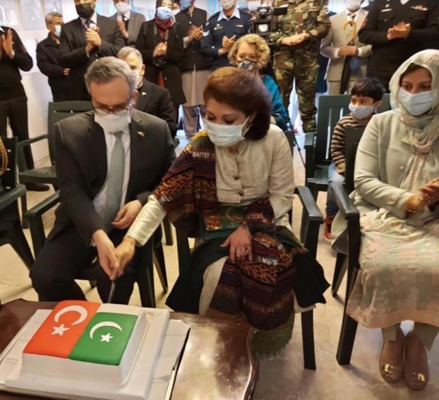 Pakistan Milli Günü Türkiye'de kutlandı! Ankara'nın en yüksek kulesi 'Atakule' ışıklandırıldı