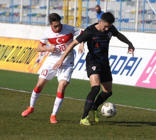 Ümit Milli Takım, Hırvatistan'a 4-1 mağlup oldu