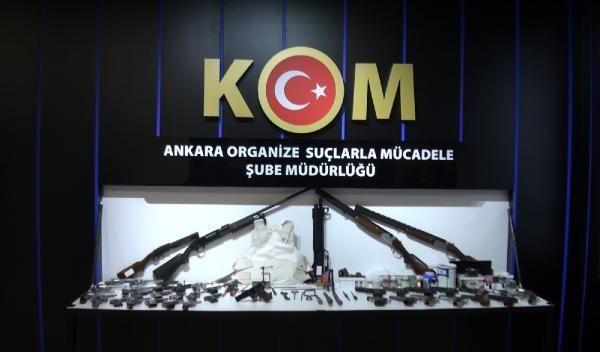 Ankara'da, silah ticareti yapan örgüte operasyon: 8 gözaltı