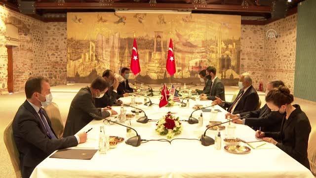 Cumhurbaşkanlığı Sözcüsü İbrahim Kalın, ABD'nin Afganistan Özel Temsilcisi Zalmay Halilzad ile bir araya geldi