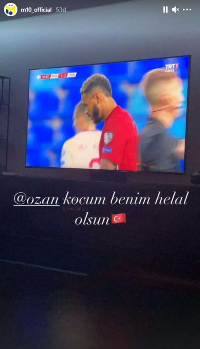 Mesut Özil'den Ozan paylaşımı: Koçum benim helal olsun