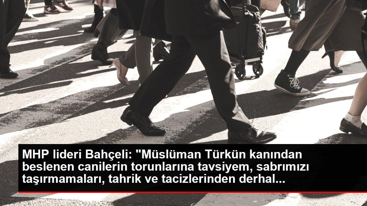 MHP lideri Bahçeli: 'Mora Ayaklanmasının hesabı henüz kapatılmadı'