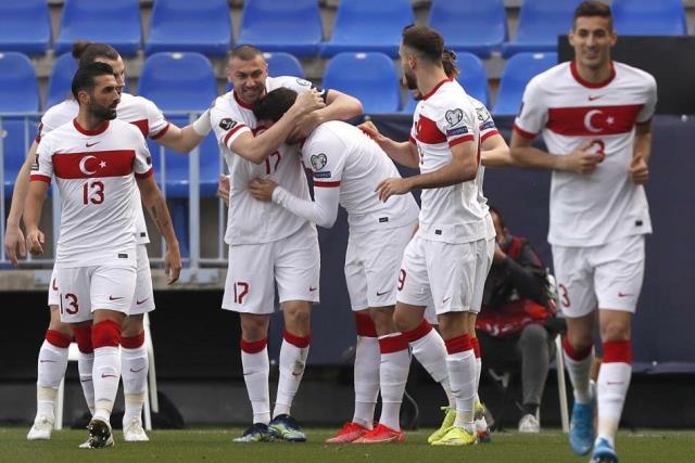 Türkiye, 2022 Dünya Kupası Elemeleri G Grubu ikinci maçında Norveç'i 3-0 yendi