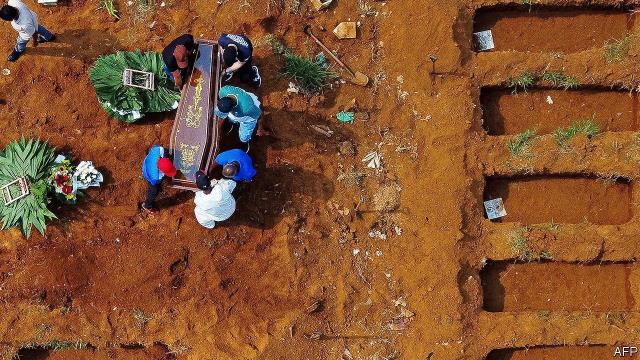 Korona ölümlerine tabut yetiştirilemeyen ülkeden bugün de iyi haber yok! 24 saatte 3 binden fazla kişi hayatını kaybetti