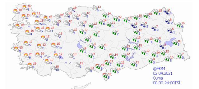 Meteoroloji uyardı! Yurt genelinde perşembe gününe dikkat