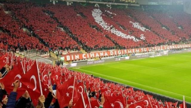TFF: Turkey-Latvia match will be the audience