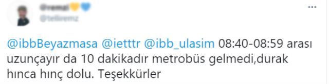 Avrupa'dan Anadolu Yakası'na geçişte metrobüs seferleri durdu! Onlarca araçlık kuyruk oluştu