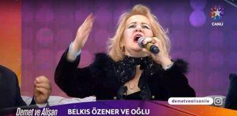 Fatma Girik: Belkıs Özener kimdir? Demet ve Alişan ile Sabah Sabah konuğu: Şarkıcı Belkıs Özener kaç yaşında, biyografisi nedir?
