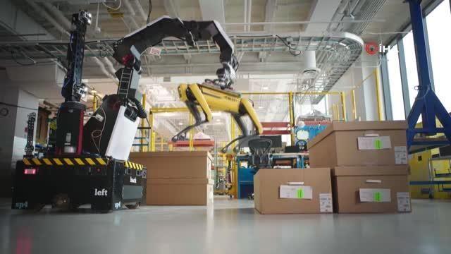 - Boston Dynamics, yeni robotu Stretch'i tanıttı