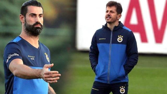Emre Belözoğlu and Volkan Demirel came to fist in the dressing room!  Inner face of the incident revealed