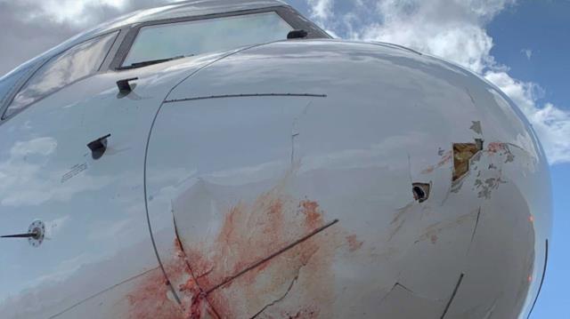 NBA team Utah Jazz, who also wore the uniform of Ersan Ilyasova, suffered a plane crash!  Jet engine caught fire