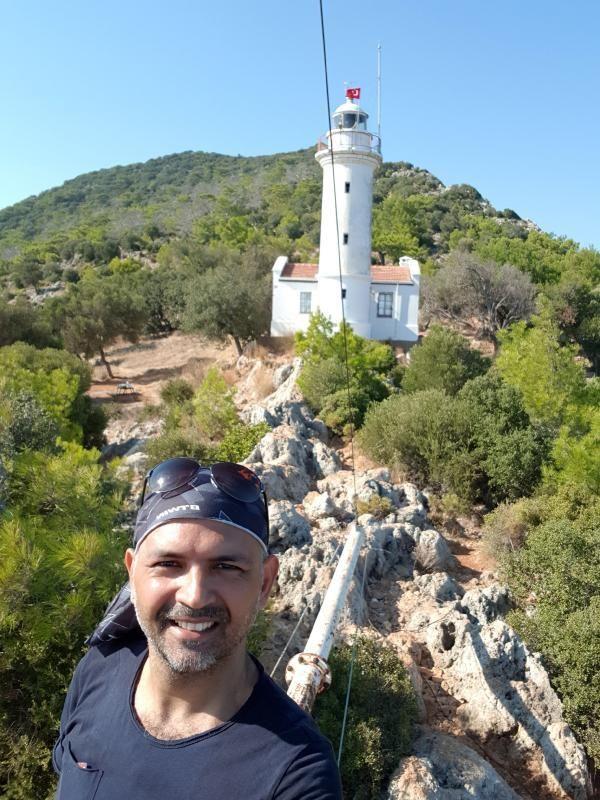 Akdeniz'in kılavuz fenerinde bahar görüntüleri