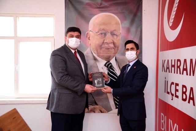 Başkan Oğuz'dan 'siyasi nezaket' ziyaretleri