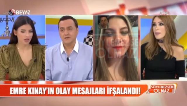 Bir kadına psikolojik şiddet ve tacizde bulunduğu iddia edilen Emre Kınay'dan ilk açıklama geldi