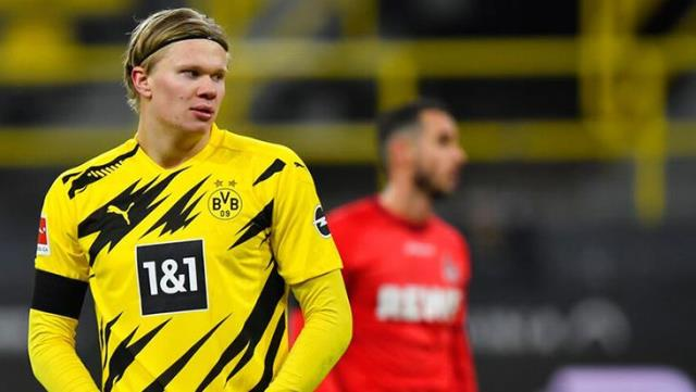Barcelona made first contact for Erling Haaland's transfer