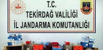 Kızılpınar: Kiralık evi sigara imalathanesine çevirmiş