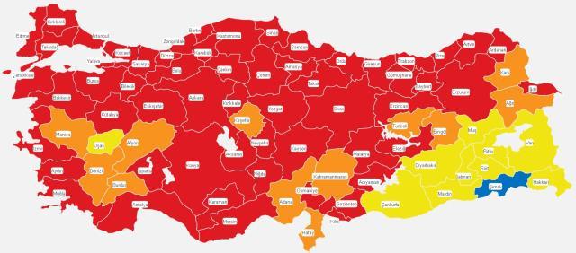Bayburt, Rize, Erzurum Cumartesi-Pazar hafta sonu sokağa çıkma yasağı var mı? 3-4 Nisan hafta sonu sokağa çıkmak yasak mı?