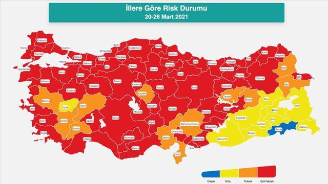 Değişen risk haritası sonrası ilk hafta sonu! 58 şehirde vatandaşlar sokağa çıkamayacak