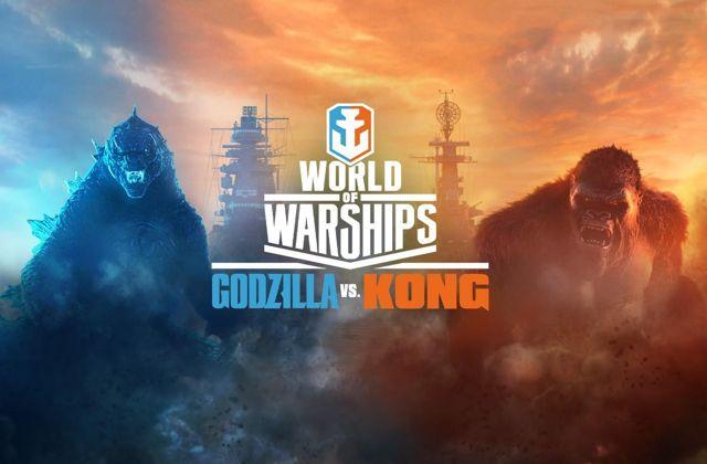 Godzilla vs Kong savaşı Word of Warships'te yaşanacak!