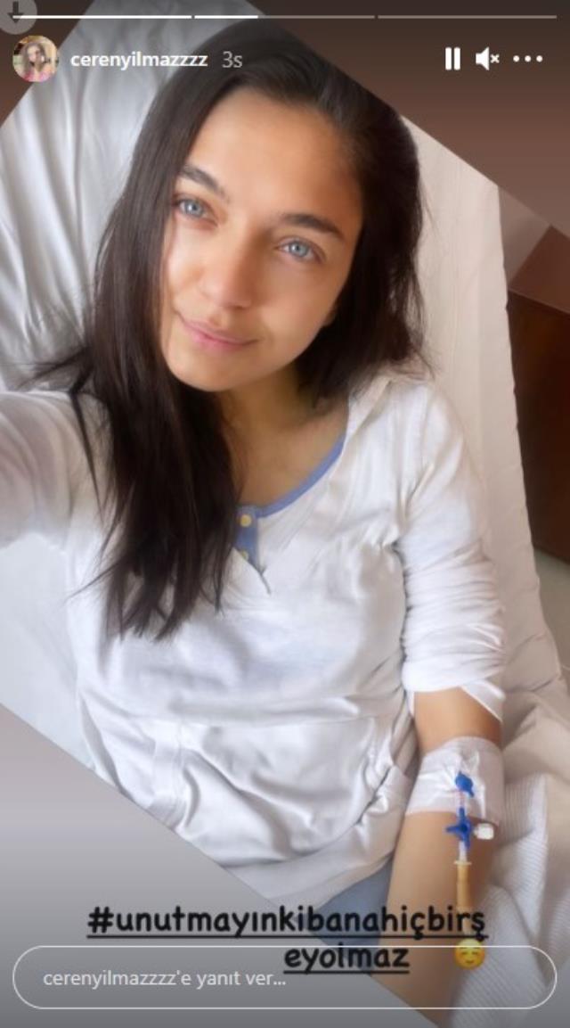 Koronavirüse yakalanan oyuncu Ceren Yılmaz hastaneye kaldırıldı
