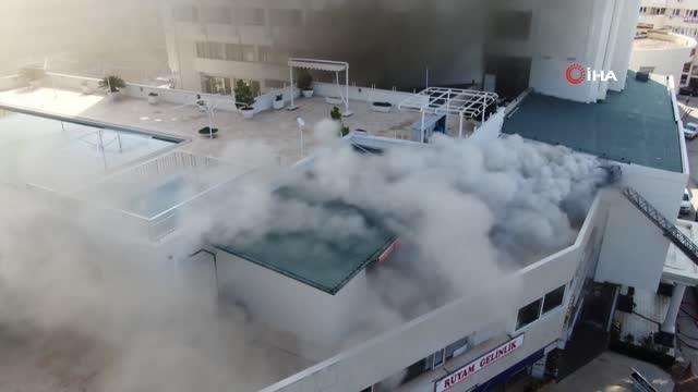 Son dakika haberi | 4 yıldızlı otelde müşterilerin yangın paniği