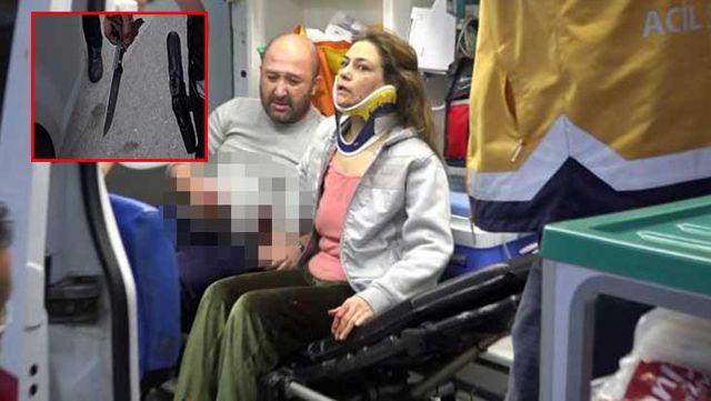 Alkol şişede durduğu gibi durmadı! Öfkeli genç annesini dövüp, erkek arkadaşını ise bıçakladı