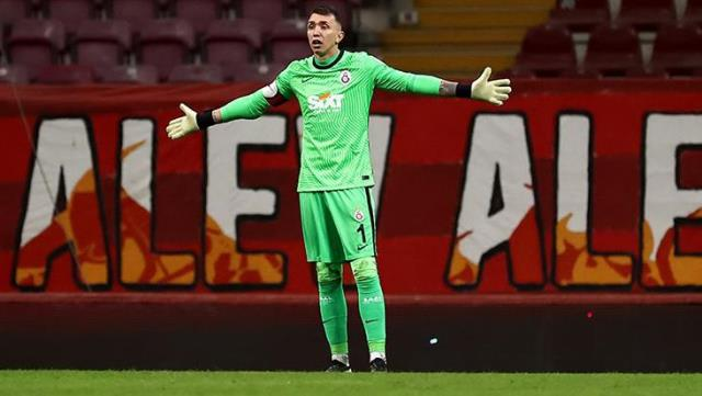 Fernando Muslera couldn't prevent a goal in 7 of 12 shots on his goal in the last two games