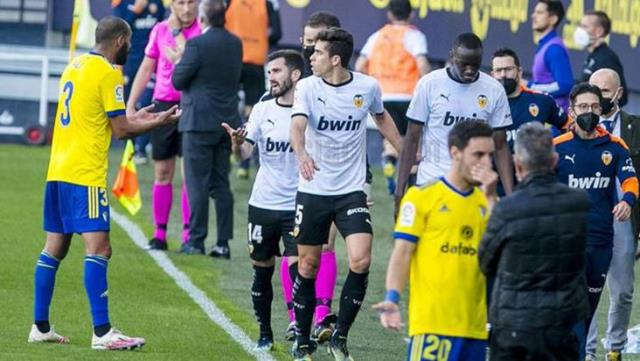 Racism scandal marked the Cadiz-Valencia match in La Liga