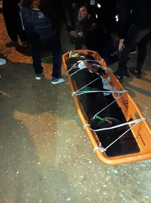 Otomobil 150 metrelik uçurumdan yuvarlandı: 1 ölü, 2 yaralı