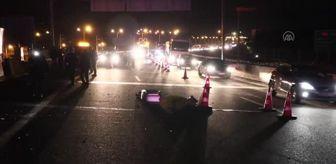 Ali Erkan: Otomobil beton bariyere çarptı: 1 ölü, 1 yaralı