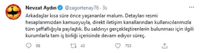 Yemeksepeti'nin CEO'su Nevzat Aydın'dan siber saldırıyla ilgili açıklama: Çok üzgünüm