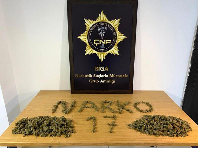 Son dakika haber... Çanakkale'de uyuşturucu operasyonu: 7 tutuklama