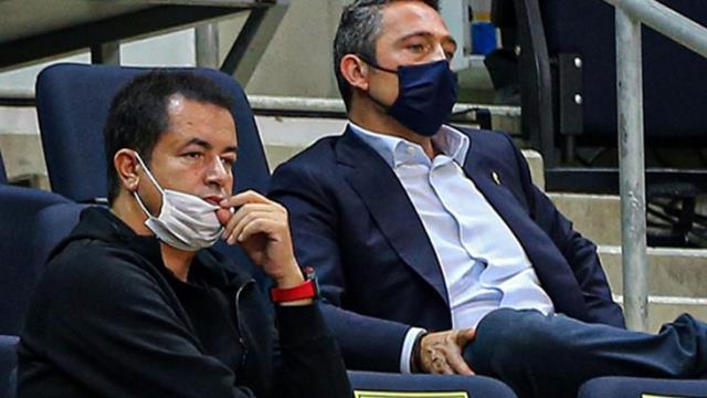 Fenerbahçe başkanlığı yakıştırılan Acun Ilıcalı, maçı locasından izledi, Belözoğlu'nu tebrik etti