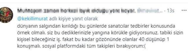 'Kovid yalanına inanmıyorum' diyen Murat Kekilli sosyal medyayı ikiye böldü