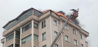 Ergenekon: Son dakika haberleri: Tokat'ta, 5 katlı binada çatı yangını
