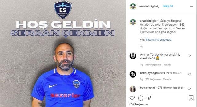Yeni transferin yaşı sosyal medyayı salladı! Herkes aynı ironik cümleyi kurdu