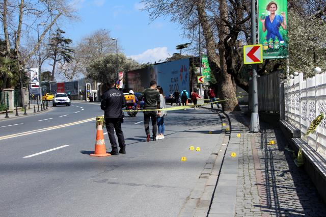 Beşiktaş'ta silahlı saldırı: 4 yaralı