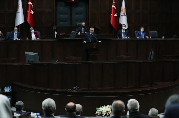 Erdoğan: Bir grup emekli askerin tehdit etmelerini küçümseyen, darbecinin ta kendisidir