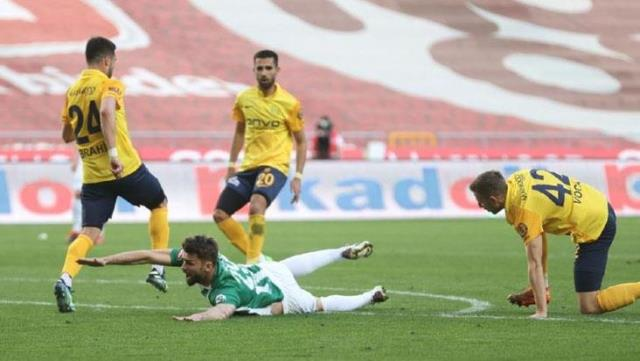 Adding color to the league with Hikmet Karaman, Ankaragücü could not get 3 points from Konya this time
