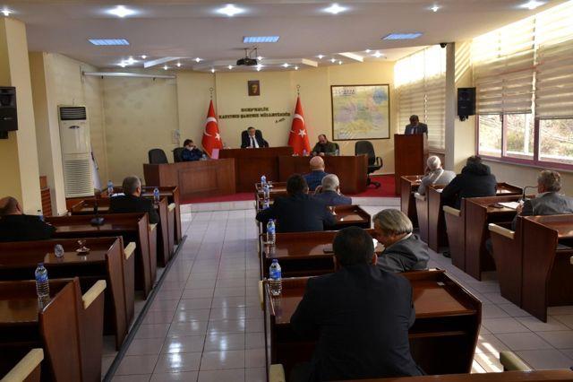 İl Genel Meclisi nisan ayı toplantıları devam ediyor