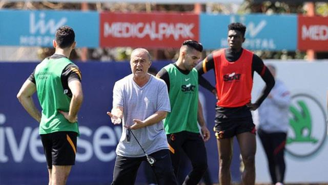 Fatih Terim, who does not tolerate bad results, exploded into the team during training