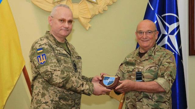 NATO'dan Rusya'ya gözdağı! Askeri Komite Başkanı Ukrayna'da