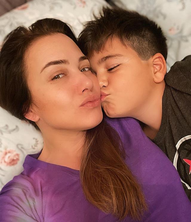 Reha Muhtar ve Deniz Uğur çiftinin çocukları büyüdü! İşte babalarına benzeyen ikizlerin son hali