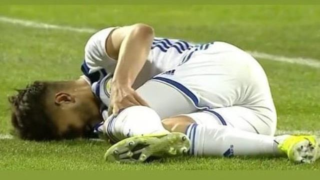 Siyah-Beyazlı futbolcular, sakatlıktan ötürü sezonu kapatan Hasic'i unutmadı