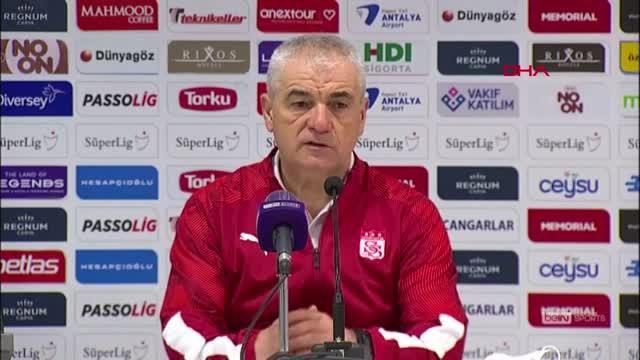 SPOR Fraport TAV Antalyaspor - Demir Grup Sivasspor maçının ardından