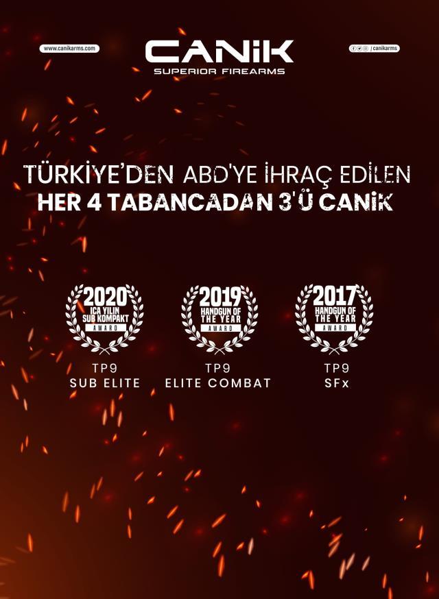 Dünyanın en büyük 7'nci hafif silah üreticisi Türkiye'den! Dakikada 1 silah üretiyor