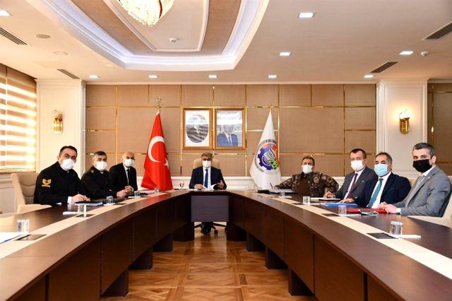 GAMER, Vali Fuat Gürel başkanlığında toplandı