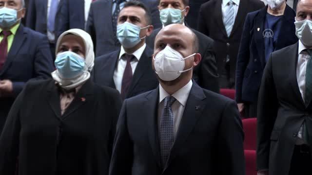 Dünya Etnospor Konfederasyonu Başkanı Bilal Erdoğan, Kırgızistan'da konferansa katıldı