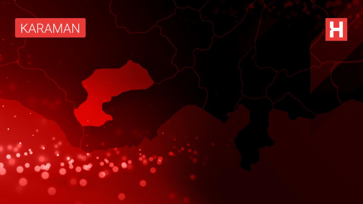 Son dakika! Karaman'da istinat duvarından düşen otomobilin sürücüsü öldü